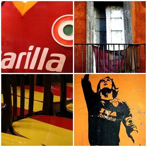 AS Roma | Tesstaccio walls, Barilla logo, Totti | also see pinterest.com/...  #asroma