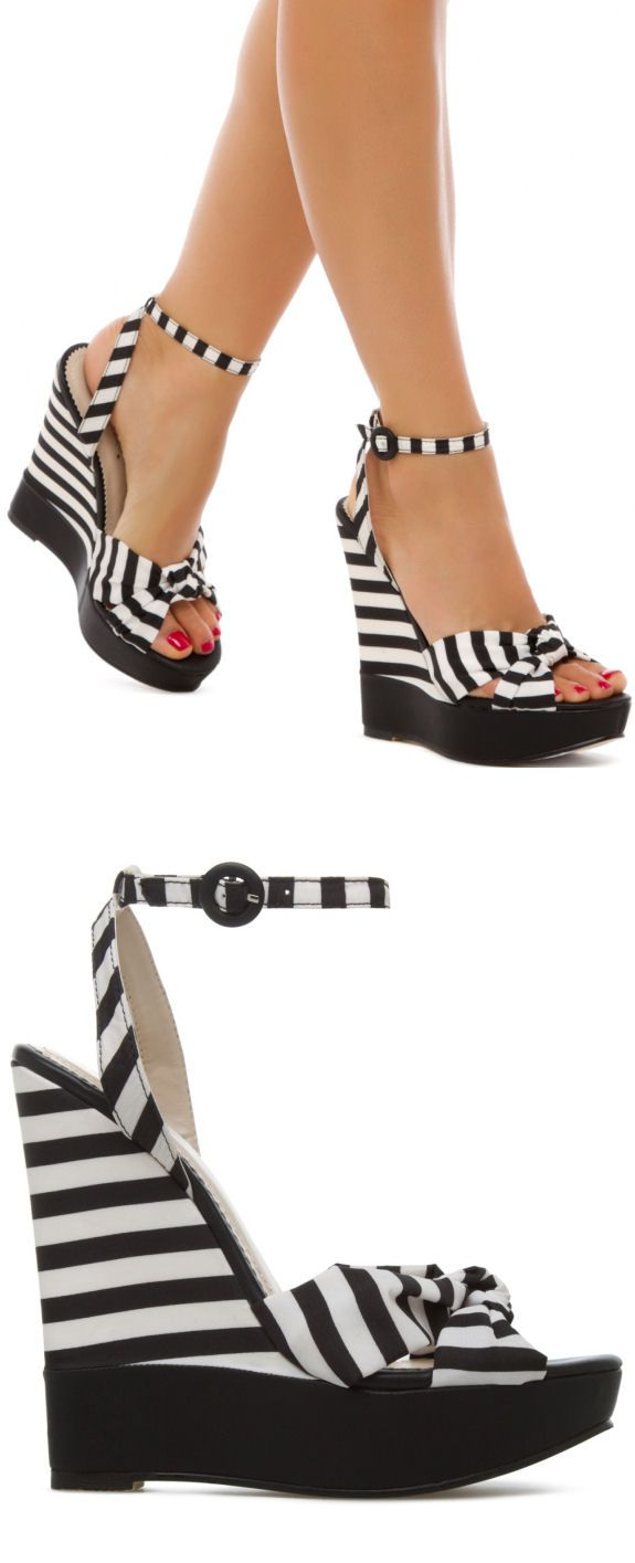Stripe Wedges // L.O.V.E.