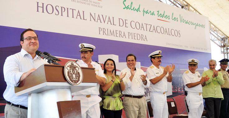 El Ejecutivo estatal refirió que en el Hospital Naval de Coatzacoalcos se brindarán servicios de urgencias, quirófano y consulta externa, con el valor agregado de una Unidad de Cuidados Intensivos, Rehabilitación y Medicina Física, a los marinos y sus familiares.