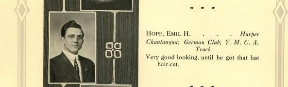 100-Year-Old Yearbook Proves Teens Have Always Been Horny Rebels