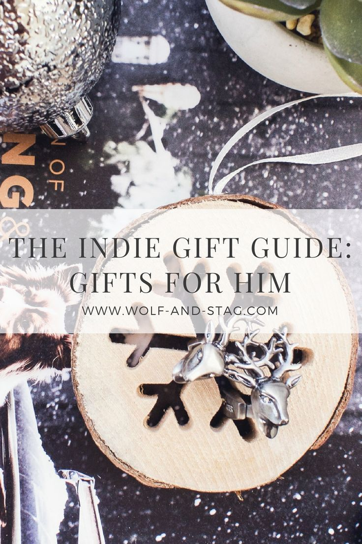 Want to #shoplocal this holiday? My gift guides feature picks from the best artisanal makers, brands and retailers from the UK and the US. Part II is gifts for him -- from locally-made leather goods to drinks and gadgets, all at reasonable prices #shoplocal #shopindependent #shopsustainably | Wolf & Stag