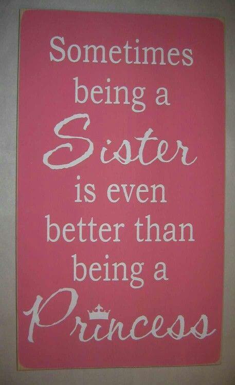 The bond between sisters