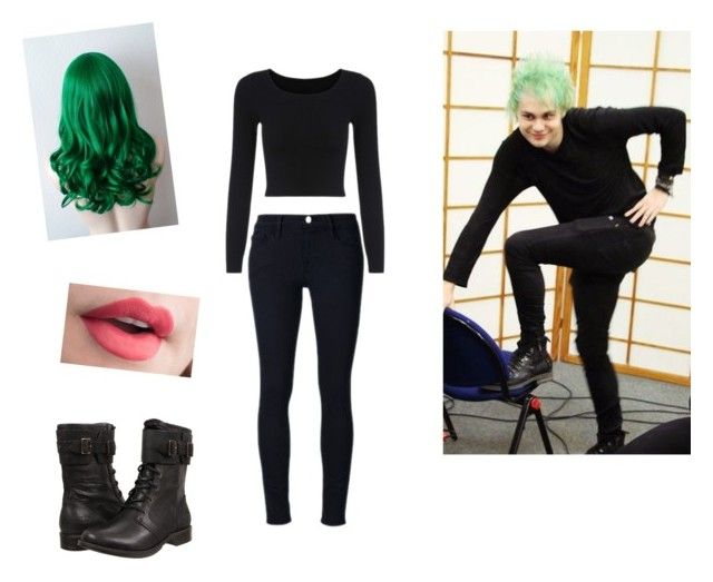 """""""steal his style. Mikey Clifford"""" by smithhendricks ❤ liked on Polyvore featuring Frame Denim and UGG"""