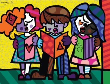 """Romero Britto """"Britto Kids"""""""