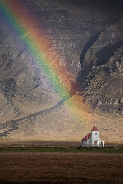 Rainbow Chapel (Redux) | Iceland