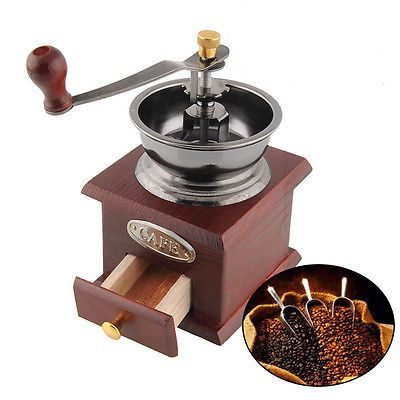 Coffee #grinder mill #vintage #manual hand crank adjustable decor antique wine re,  View more on the LINK: http://www.zeppy.io/product/gb/2/391319463602/
