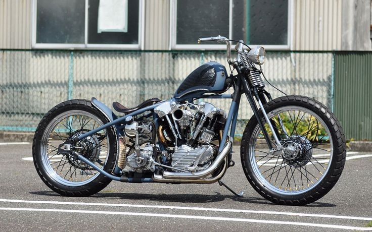 Bobber Inspiration | Bullet Custom Cycle's Knucklehead | Bobbers and Custom Motorcycles