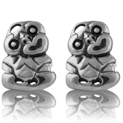 Silver and Some - Evolve - Earrings & Cufflinks, Tiki Studs