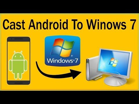 How To Mirror Android To PC Windows 7 Without Rooting - How