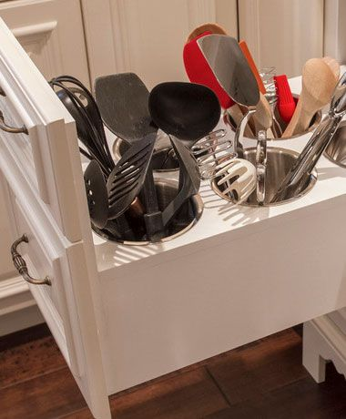 Small Kitchen Organizing Ideas - Utensil Drawer - Click Pic for 42 DIY Kitchen Organization Ideas  Tips