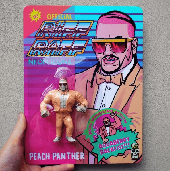 Official RiFF RAFF Peach Panther Figure By Trap Toys jodyhighroller