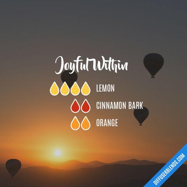 Joyful Within - Essential Oil Diffuser Blend