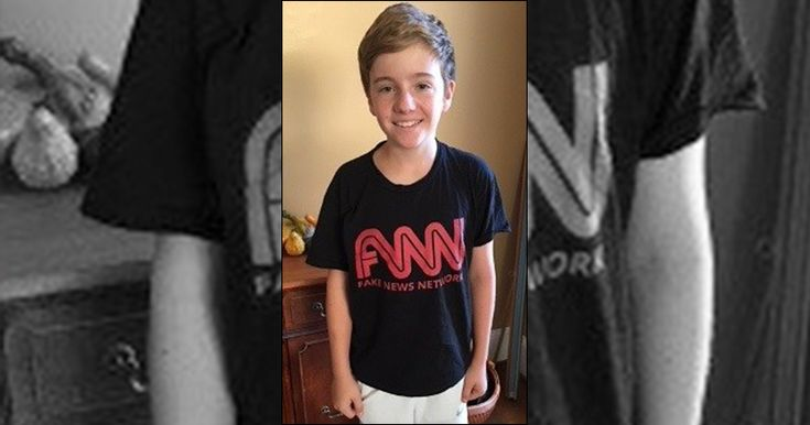 School Punishes 7th Grader Over 'Fake News' Shirt Worn During Trip To CNN