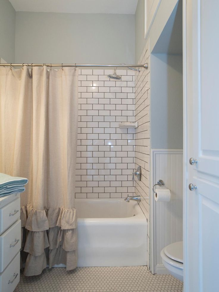 108 best images about hgtv fixer upper on pinterest - Fixer upper long narrow bathroom ...