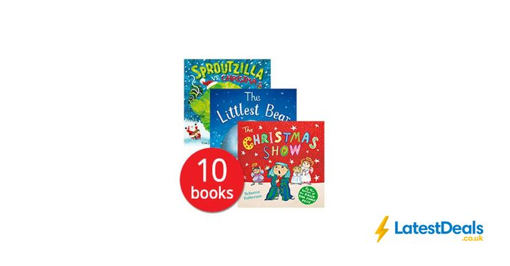 Santa's Bag of Books Collection - 10 Books, £10.99 at The Book People