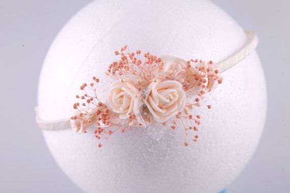 Hey, I found this really awesome Etsy listing at https://www.etsy.com/listing/249072335/flower-girl-headband-first-communion