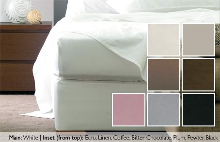 Plain Bed Wraps. Our bed wraps are the perfect complement to give your bed an elegant and effortless finish. The wrap decorates the base without having to remove the mattress or bed linen and is made from long lasting, high quality polyester. Please see your local consultant for size and colour availability
