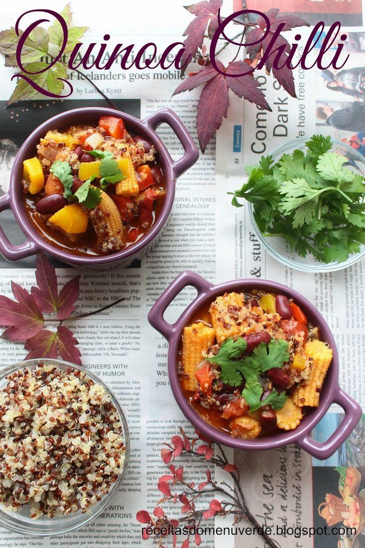 Menu Verde: Chili de quinoa - Quinoa Chilli