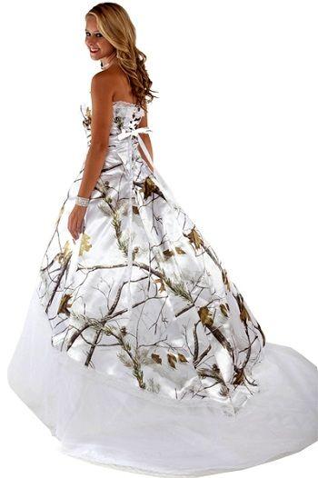 17 best images about camo wedding dress on pinterest for Mossy oak camo wedding dress