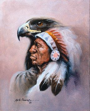 eagle Native American Art | chosen for auction at C.M. Russell museum $$$SOLD