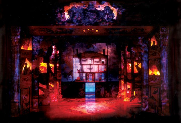 16 best scenic design examples for intro to theatre images for Secret design