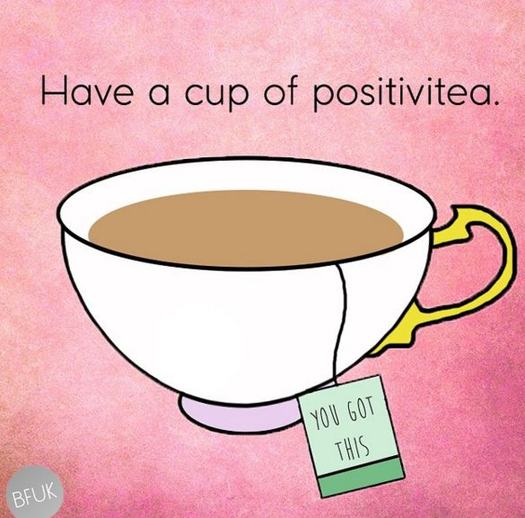 Start your day properly with a nice cup of tea.   7 Things You Deserve To Do For Yourself This Week