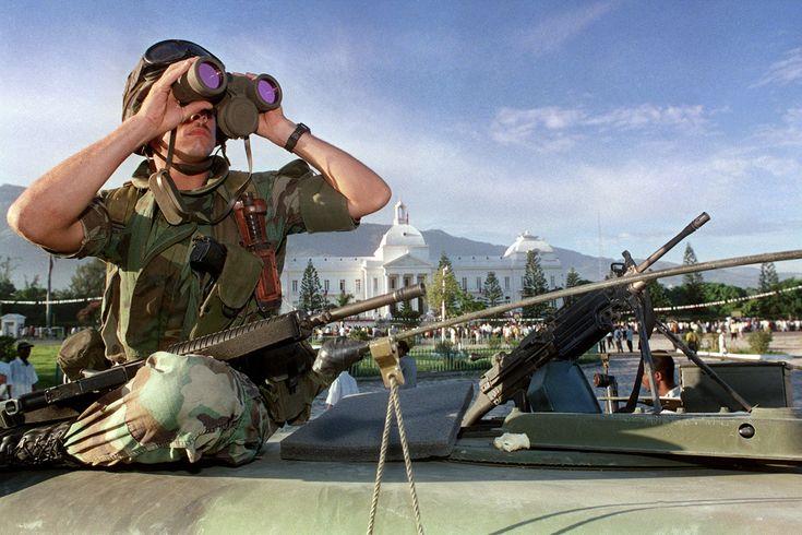 Reason Latin Americans Come to the U.S.: INVADED HAITI AGAIN IN 1994