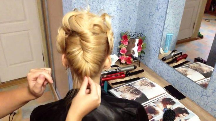ВЕЧЕРНЯЯ ПРИЧЕСКА НА КОРОТКИЕ ВОЛОСЫ   Hairstyles for Short Hair   Лозни...
