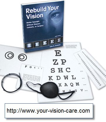 The Rebuild Your Vision Program (Plus 4 Bonuses) $97  How To Improve Your Vision Naturally With Eye Exercises  The fact is, the Rebuild Your Vision Program touts over a 94% customer satisfaction rate for one reason - it really works to improve your vision.