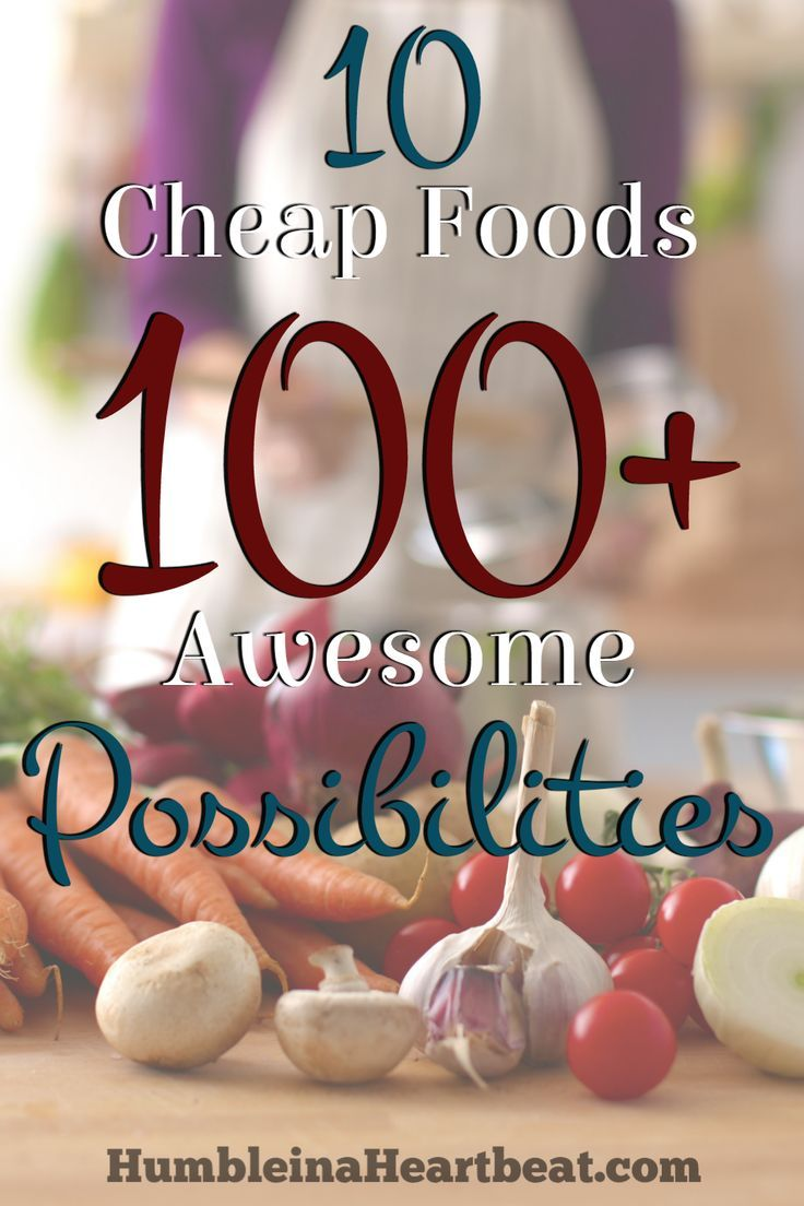 What a great list of delicious meal possibilities using 10 cheap foods! I could meal plan just with this list and save tons of money!
