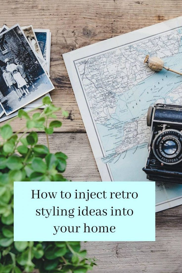 Retro styling ideas for your home - some lovely ideas obn how to create a reto interior design look by simply adding a fw key retro pieces #retro #retrodesign