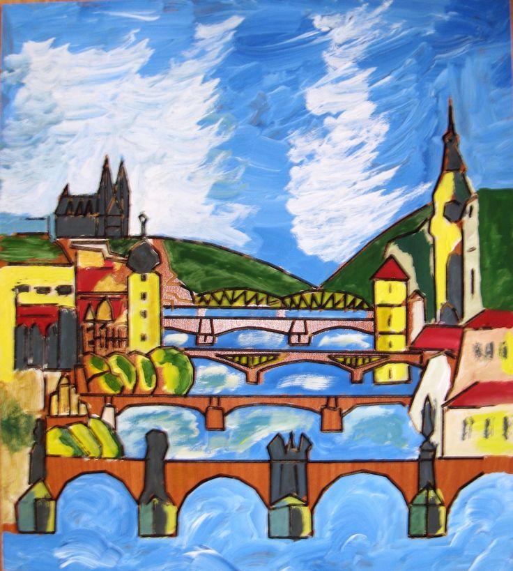 mosty Prahy, Burjan