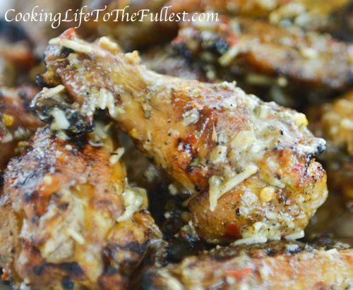 Parmesan Garlic Wing Sauce