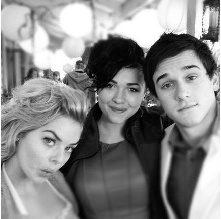 Sam, Demi and Charles