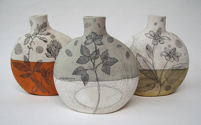 Diana Fayt  Canteen Vases