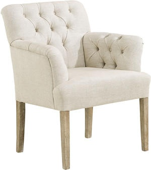 Den här fåtöljen tycker jag är snygg! Jag är dock inte säker på att jag kommer att välja den till hallen som extra stol då den inte stämmer in i temat. Vi får se hur jag gör. Den kanske passar bättre till sovrummet eller vardagsrummet? Bild från coastandcountry.se