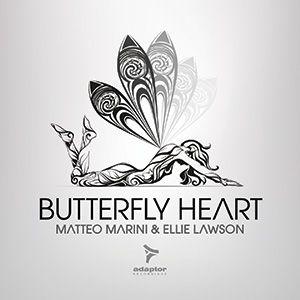Adaptor Artwork for Matteo Marini's release with Ellie Bancroft #ButterflyHeart [Art: Luca Masini / ZeroUno Design]
