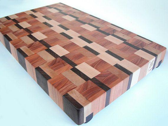 bloc de coupe en grain fin solide super luxe Eco par Ecohardwoods