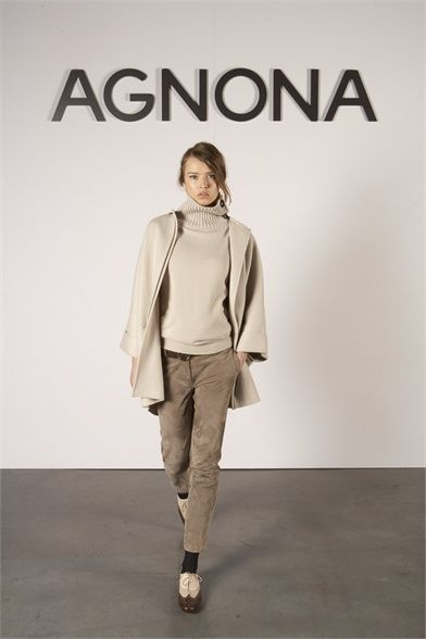 #moda Photos and comments to learn about the collection, the outfits and accessories Agnona presented for Fall Winter 2012-13