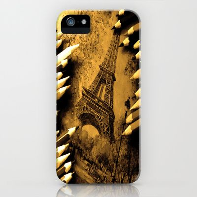 Eifell I'm in Love iPhone & iPod Case by D'art e Fact - $35.00