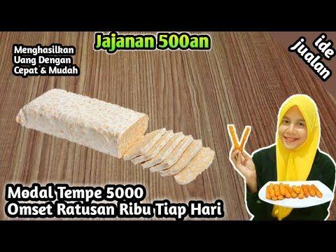 Ide Jualan Modal Tempe 5000 Omset Ratusan Ribu Tiap Hari Youtube Ide Makanan Makanan Resep Simpel