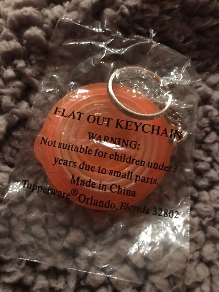 Tupperware FLAT OUT BOWL Keychain Miniature - Brand New in Package - Orange   Collectibles, Kitchen & Home, Kitchenware   eBay!