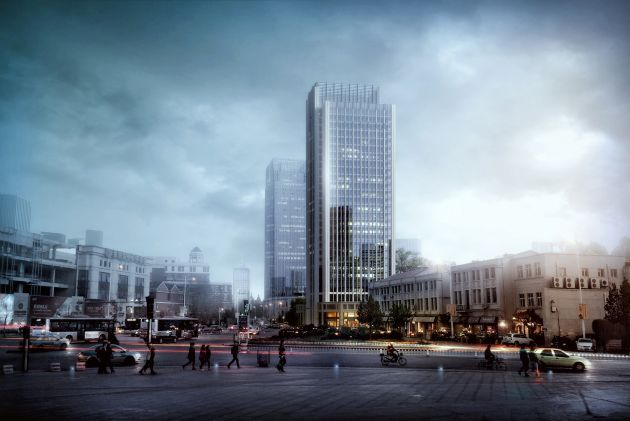 CGarchitect - Professional 3D Architectural Visualization User Community   Recent work by Shanzi Digital. Tianjin