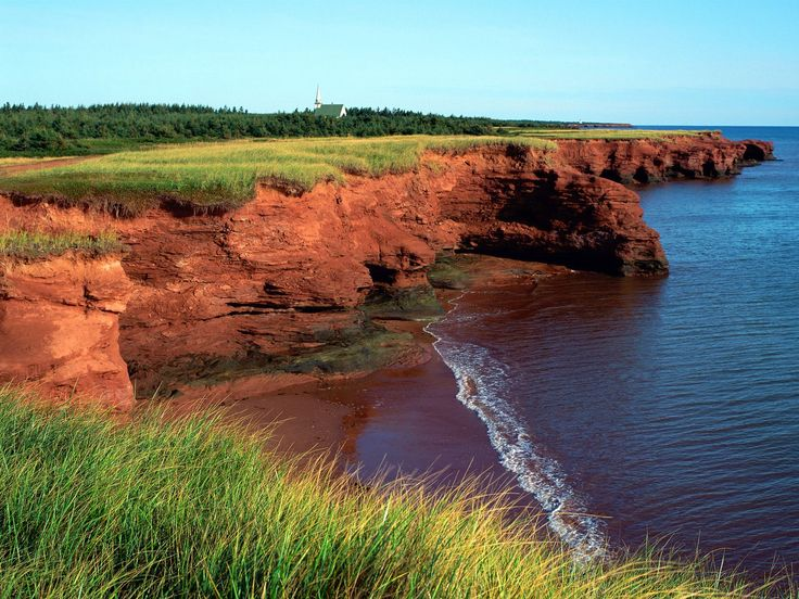 Red Sands of Prince Edward Island, Canada