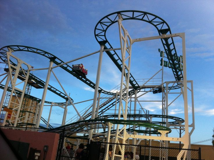 July 2013 New Roller Coaster Family Kingdom Roller