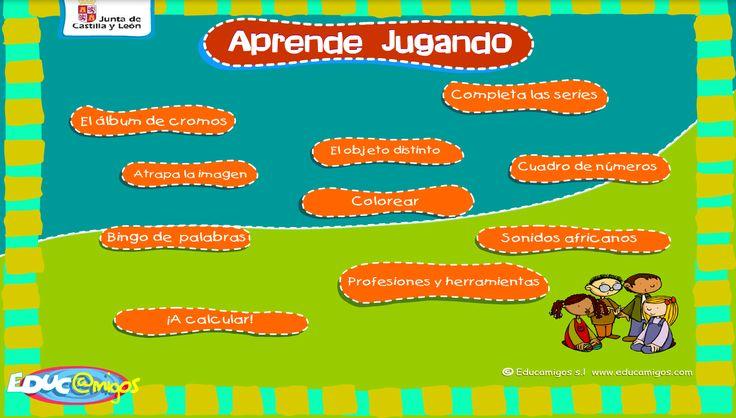 AYUDA PARA MAESTROS: Aprende jugando - Juegos interactivos para Educación Infantil