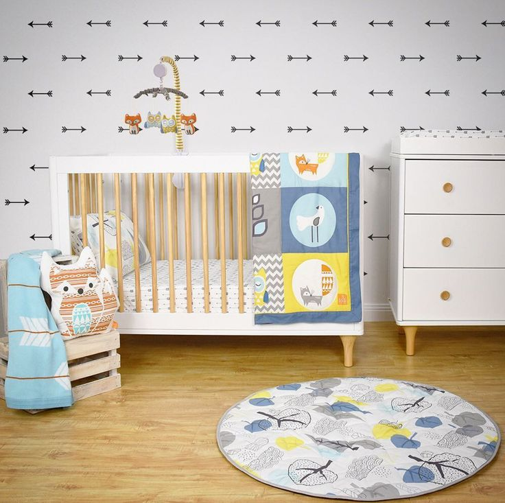 Add some flair to your nursery walls with removable decals!  🏹  Then dress up neutral furniture like the Babyletto Lolly Cot & Changer with mix 'n' match pieces from the Woods Collection 🦊  _ #nurseryinspo #nurserydecor #walldecal #nurseryfurniture #lollycot #lollychanger #babycot #babycrib #crib #changer #baby #babylove #babystyle #babyshop #babylife #babyvillagestore #lolliliving #babylettoaustralia #repost  📷 @lolli_living_australia | @babyletto