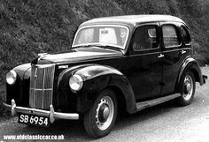 Ford Prefect E493A at Cheddar Gorge. 1956-58