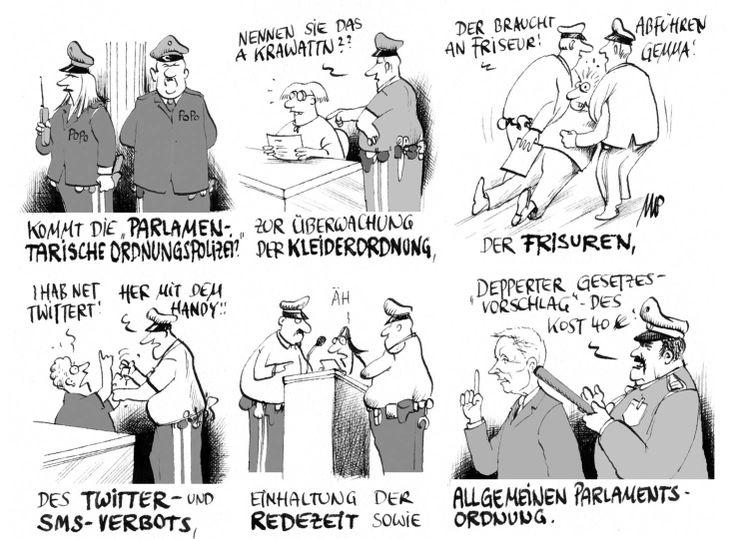 #Pammesberger: Zur Hebung der Parlamentarischen Kultur