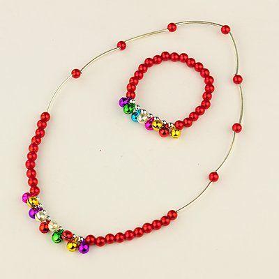 PandaHall Jewelry—Fashion Imitation Acrylic Pearl Jewelry Sets for Kids